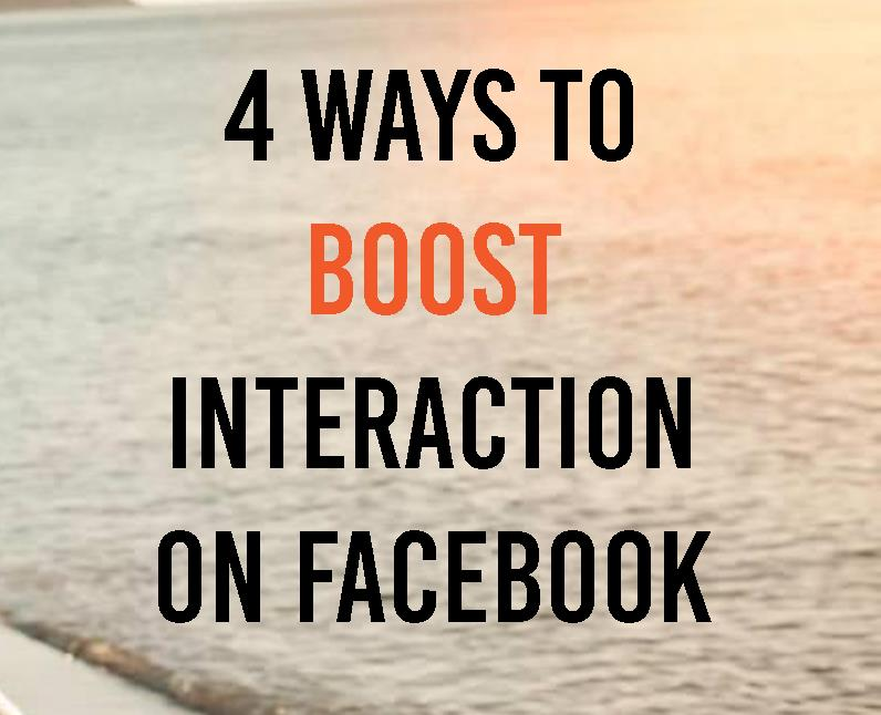 4 ways to boost Interaction on your Facebook Page4 min read